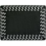 RECTANGLE DENTELLE 30X40 NOIRE