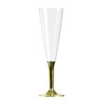 FLUTE CHAMPAGNE 10 CL METALLISE OR