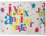 CHEMIN DE TABLE ANNIVERSAIRE MULTIC