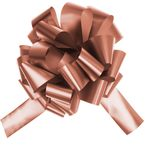 NOEUD METAL AUTO 7 CM ROSE GOLD X1